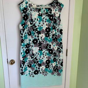 Dresses & Skirts - NWT Aqua Floral Sheath Dress